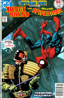 Judge Dredd Vs Spider-Man