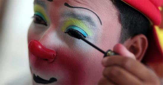Maquiagem palhaço