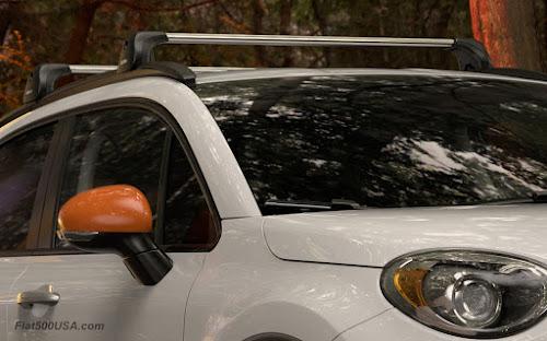 Fiat 500X Adventurer Cross Bows
