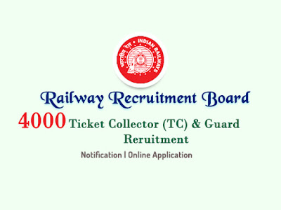 railway tc recruitment 2018 rrb ticket collector guard vacancy notification 2018