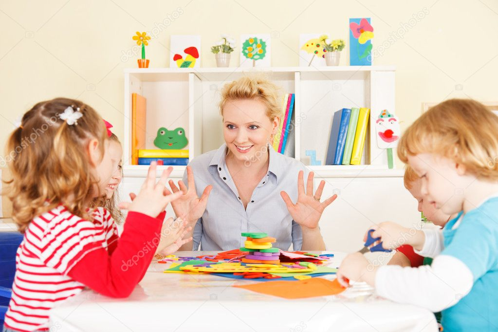 thực trạng nghề giáo viên mầm non hiện nay