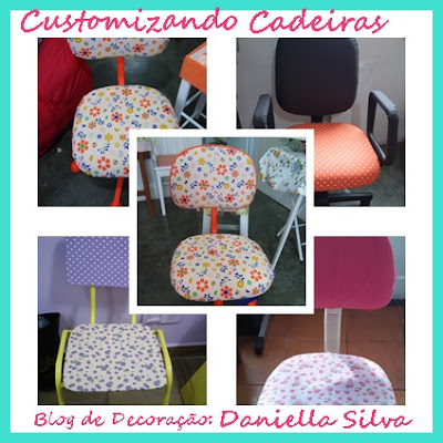 Fotos das Cadeiras Customizadas