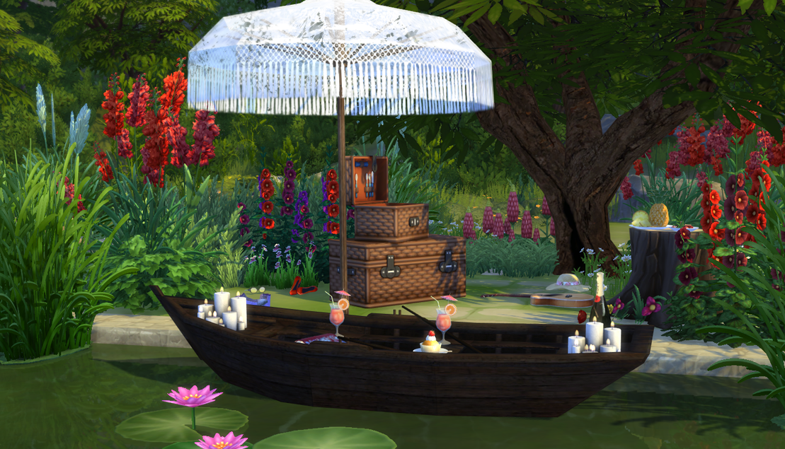 Sims 4 cc's   the best: the old boat deco by sims 4 studio