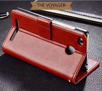 Leather flip case cover wallet dompet hp kulit Xiaomi Redmi 3 Pro vintage