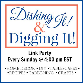 DIY, Gardening, Recipes, Tablescape and Craft Link Party