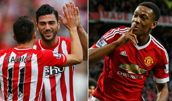 Manchester United vs Southampton Live Stream Premier League Match
