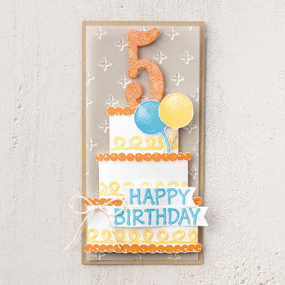 6 Stampin' Up! Icing on the Cake Birthday Projects