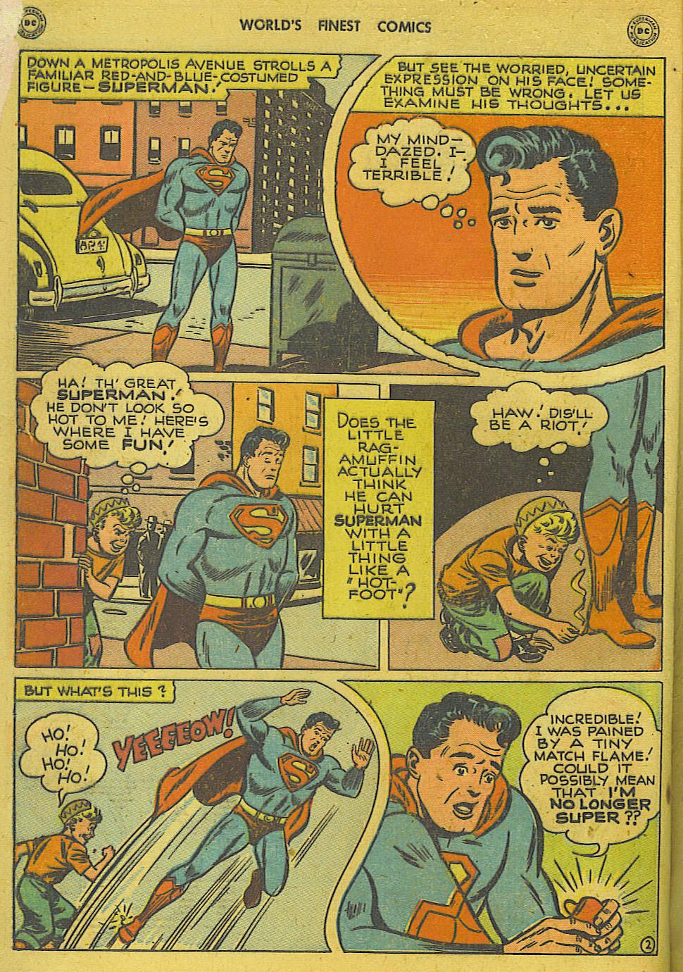 Read online World's Finest Comics comic -  Issue #34 - 4