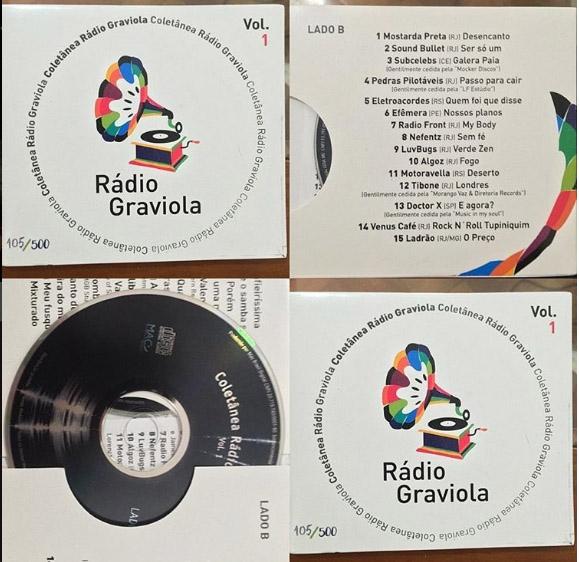 Coletânea Rádio Graviola - Volume 1 (Foto: Divulgação)