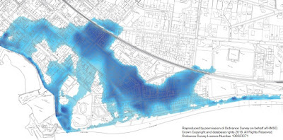 Flood Risk Map Broughty Ferry 2016