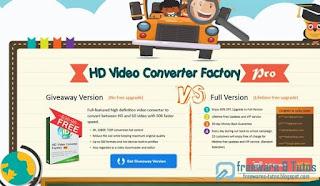 Giveaway : Wonderfox HD Video Converter Factory Pro gratuit pour la rentrée !
