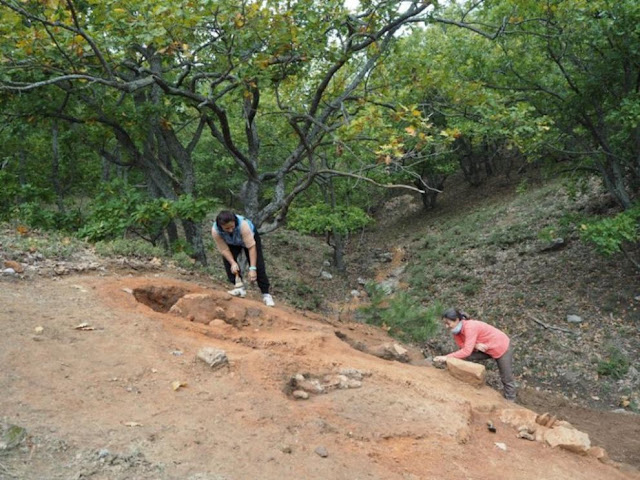 Ancient copper smelting furnaces discovered near Apollonia Pontica