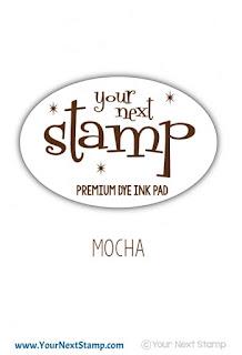 Premium Dye Ink Pad Mocha