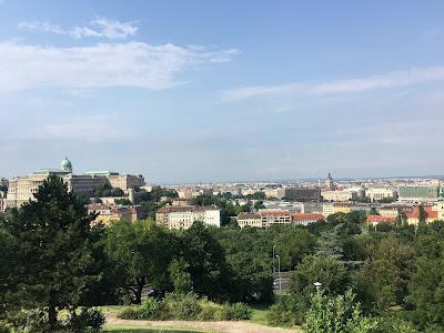 gellert hill garden of philosophy budapest hungary