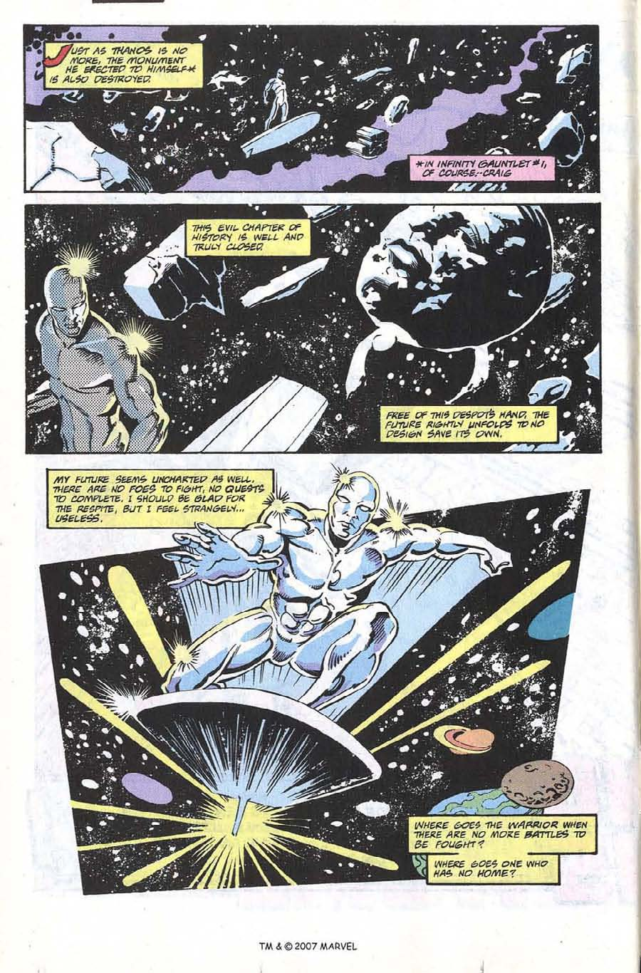 Silver Surfer (1987) issue 66 - Page 6