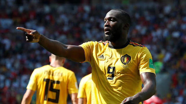 Romelu Lukaku and Eden Hazard scored two goals as Belgium thrashed Tunisia 5-2