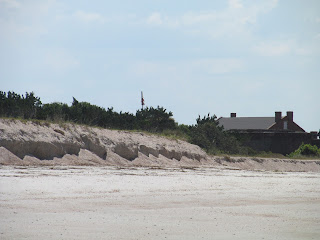 View of Fort Clinch from the Beach Florida