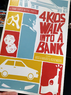 4 Kids Walk Into A Bank Comic Book Cover
