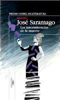 José Saramago, Las intermitencias de la muerte, títulos, libros