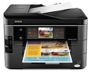 Epson WorkForce 845 Driver Free Download