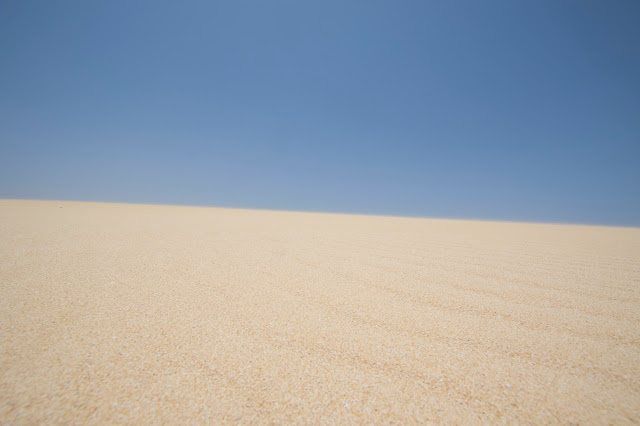 Dune del Parque natural duna di Corralejo-Fuerteventura