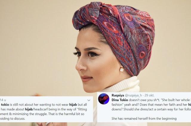 Viral, Dina Tokio Baca Komentar Negatif 47 Menit Karena Lepas Hijab