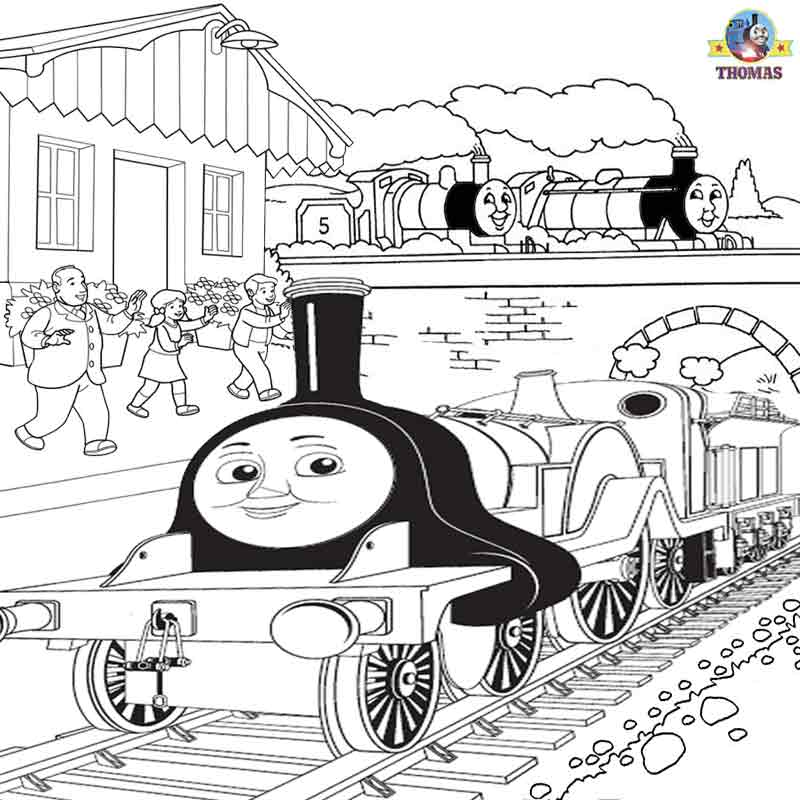 emily tank engine coloring pages - photo#3