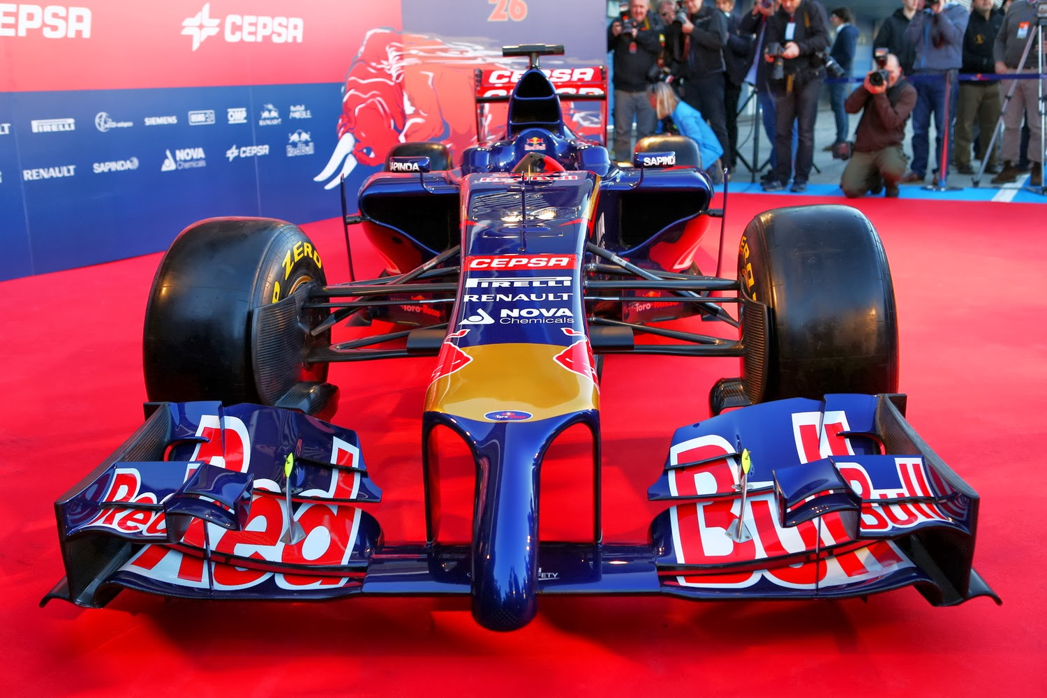 2014 CARS: TORO ROSSO UNVEILED STR9 - STEP FORWARD WITH ...