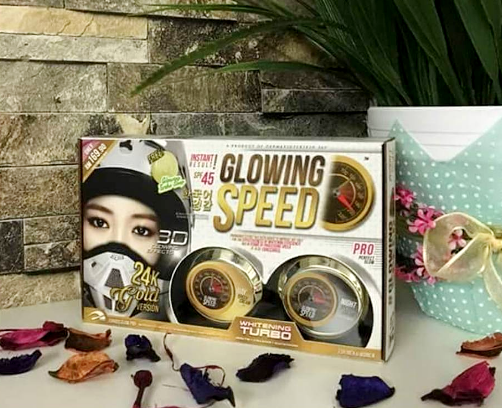 glowing speed skincare