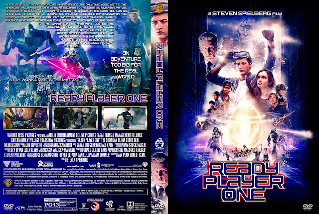Ready Player One DVD Cover
