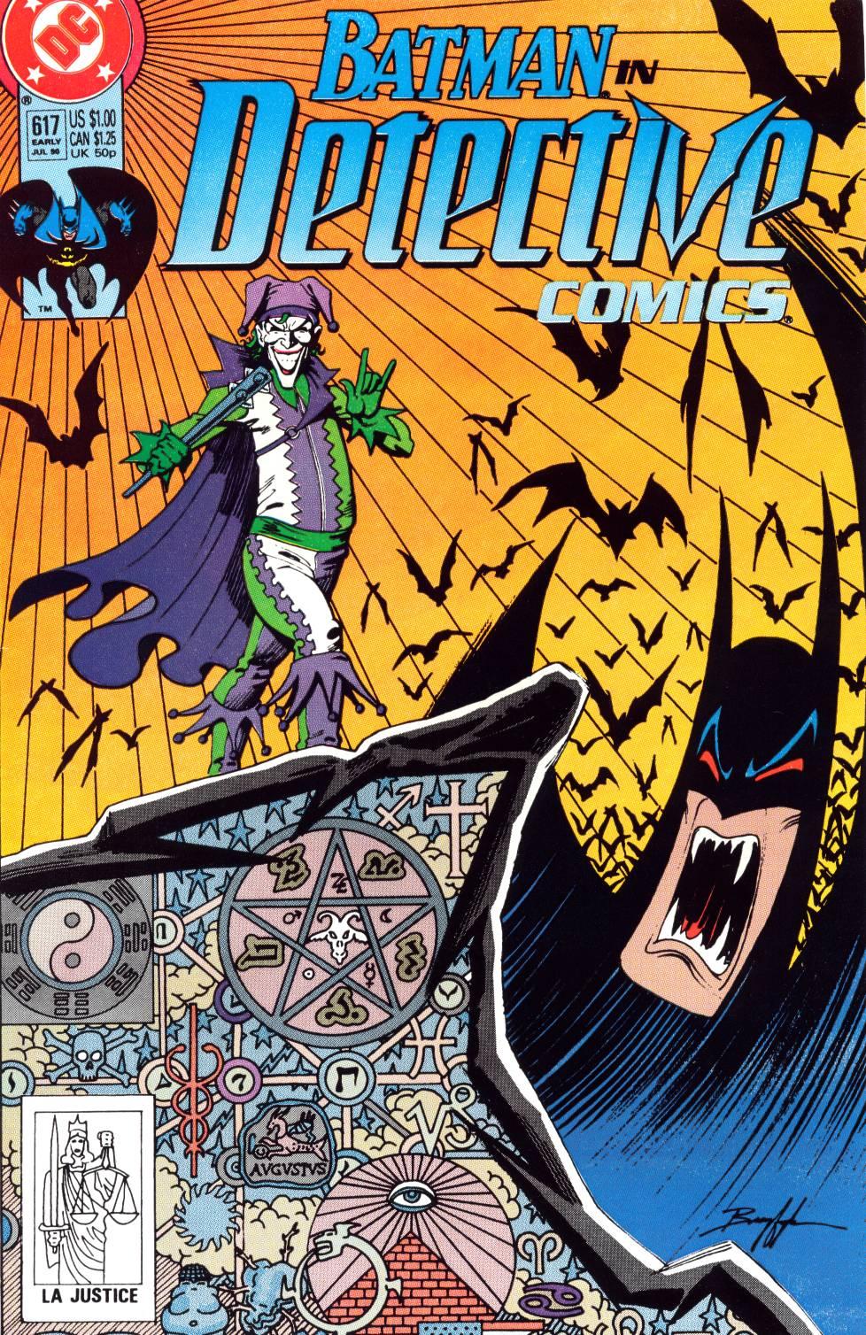 Detective Comics (1937) 617 Page 0