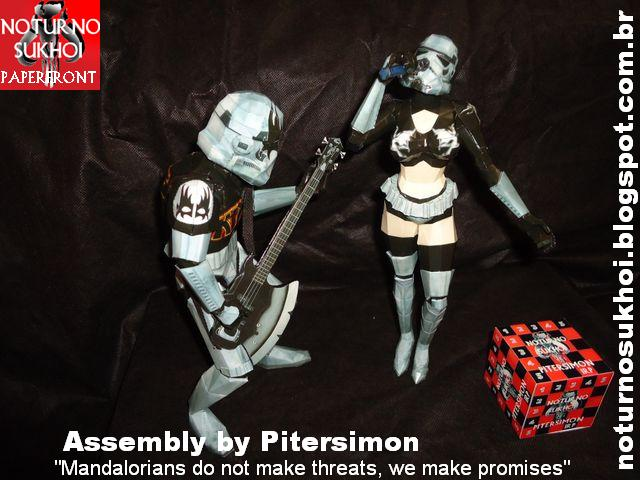Rock Troopers Papercraft