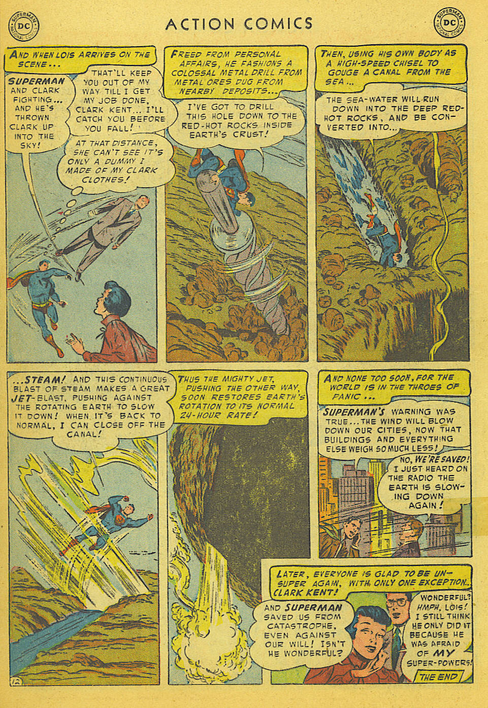 Action Comics (1938) 186 Page 13