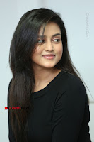 Telugu Actress Mishti Chakraborty Latest Pos in Black Top at Smile Pictures Production No 1 Movie Opening  0111.JPG