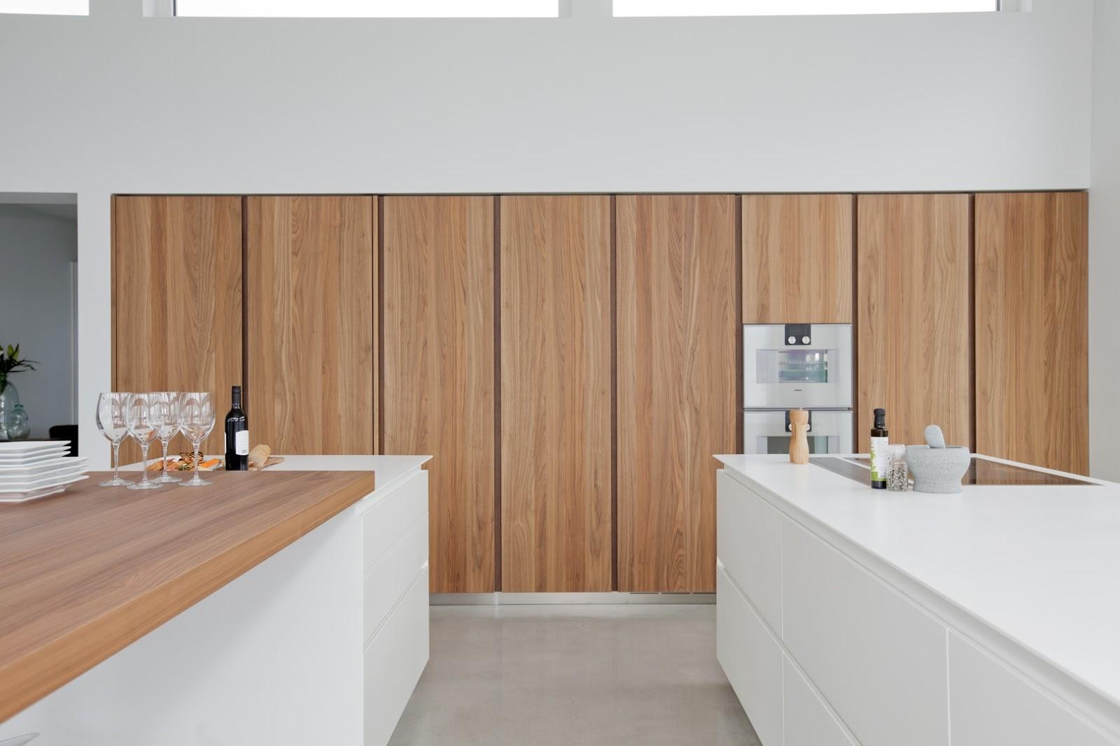 Dise ada tambi n para aprovechar y disfrutar las vistas cocinas con estilo Cocinas de madera blanca