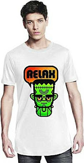 Funny Frankie (Frankenstein) Says Relax T-shirt