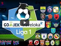 PES 2017 Add On Liga 1 Gojek Traveloka V2 untuk PTE 5.3