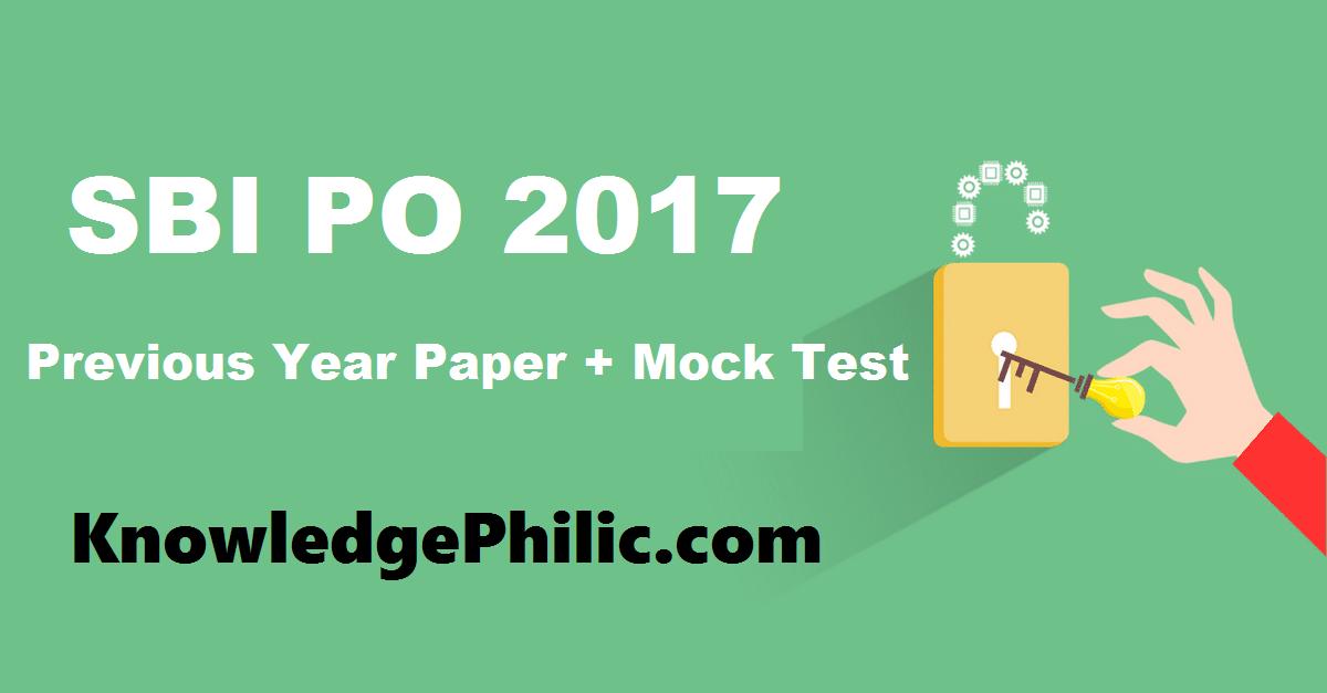 Sbi Po Previous Year Question Papers Pdf