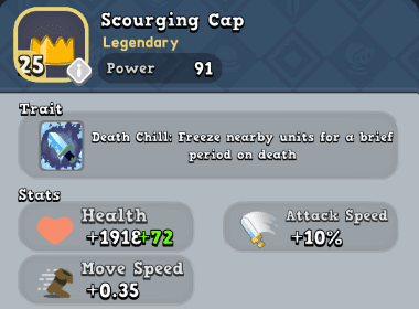 Helm: Scourging Cap