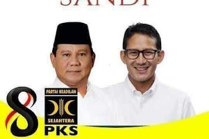 Hasil Survei Y-Publica: Saat Ini Prabowo - Sandi Sudah Kuasai Jakarta, Netizen: Insya Allah 02 Menang Telak
