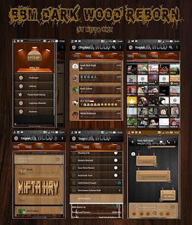 Update BBM MOD Dark Wood Reborn Apk 3.3.4.48 Terbaru