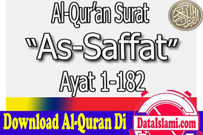 Download Surat As Saffat Mp3 Full Ayat Suara Merdu