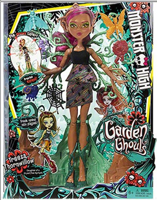 Tressa Thornwillow, Monster High, Dolls