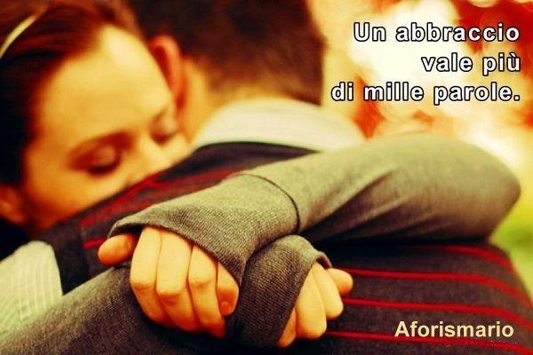 Preferenza Aforismario®: Abbraccio - Aforismi, frasi e citazioni SD72
