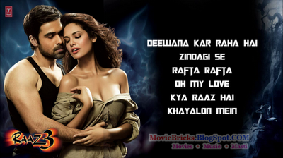 Download free songs video raha 3 hai deewana raaz kar