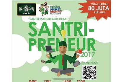 Lomba Santri Preneur Dengan Total Hadiah Rp 80.000.000