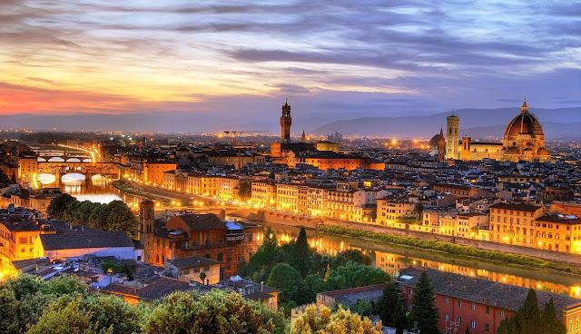 Vista de Florença - Foto de wwwmejplacehostelcom