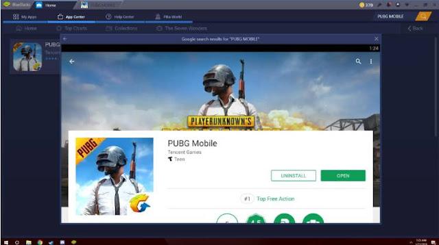 محاكي لتشغيل لعبة ببجي موبايل PUBG Mobile