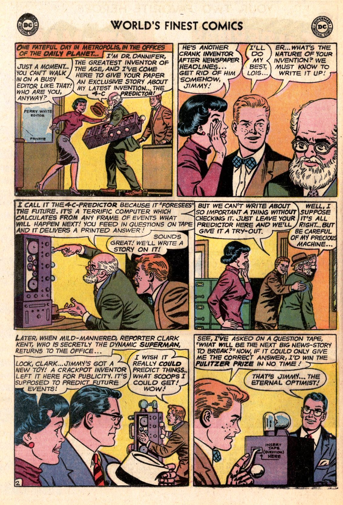 Read online World's Finest Comics comic -  Issue #141 - 4