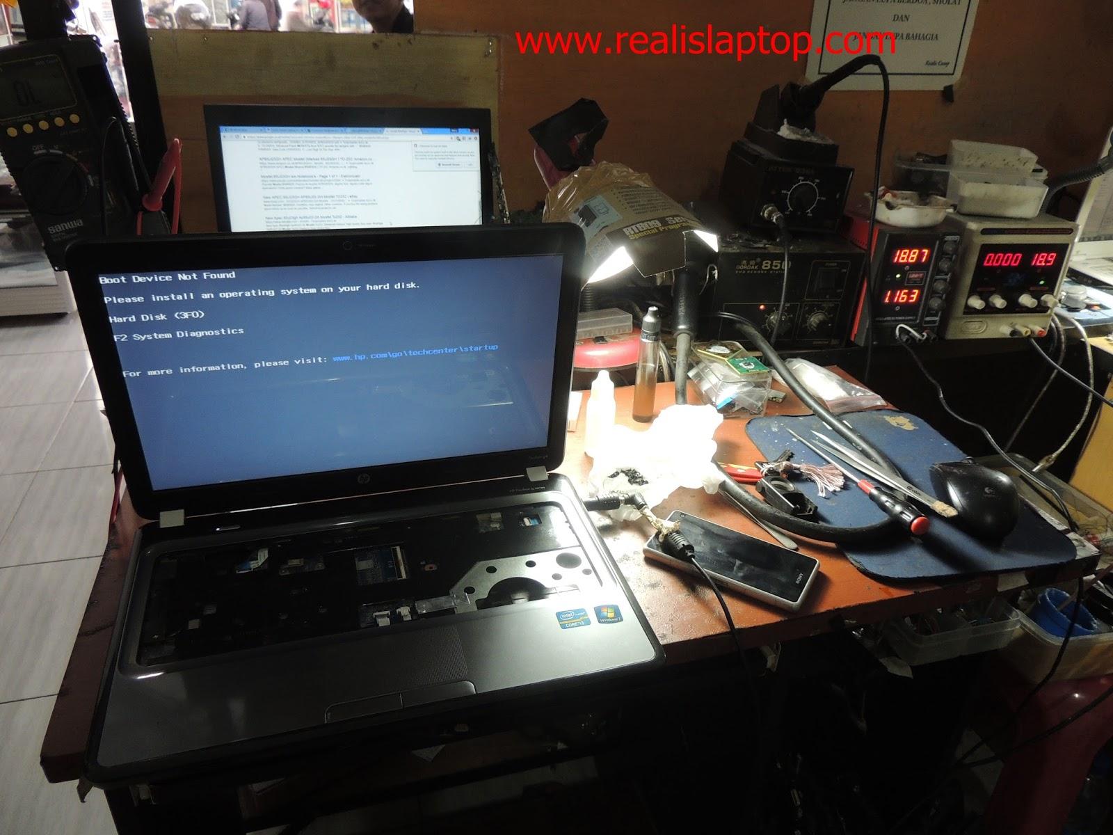 Service Laptop HP Pavilion G4